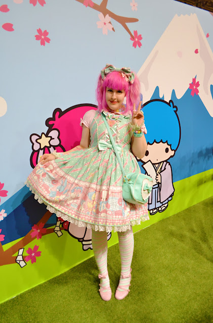 kawaii, cute, lolita fashion, hello kitty, sanrio, sweet,