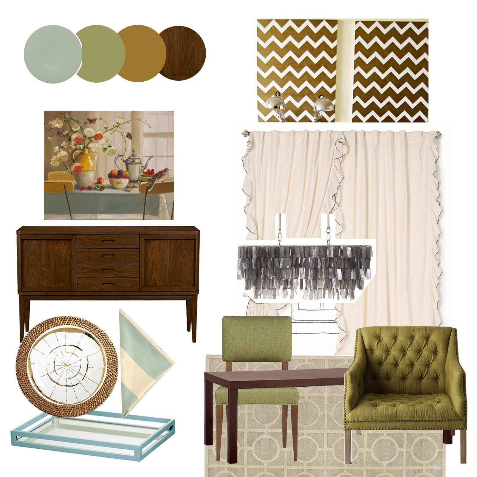 A Home In The Making: {inspired} Mood Board Monday: Dinnerware