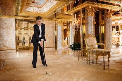 มุมไดร์กอล์ฟในบ้าน