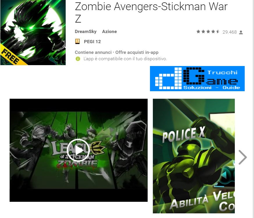 Trucchi Zombie Avengers-Stickman War Z Mod Apk Android v2.0.4