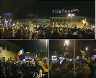 proteste in februarie 2017