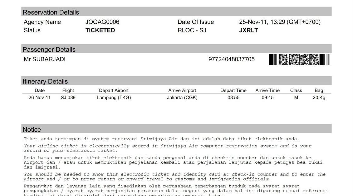 Tiket Pesawat Sriwijaya Air Bintang Tiket Bogor