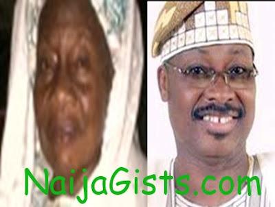 governor ajimobi loses mum