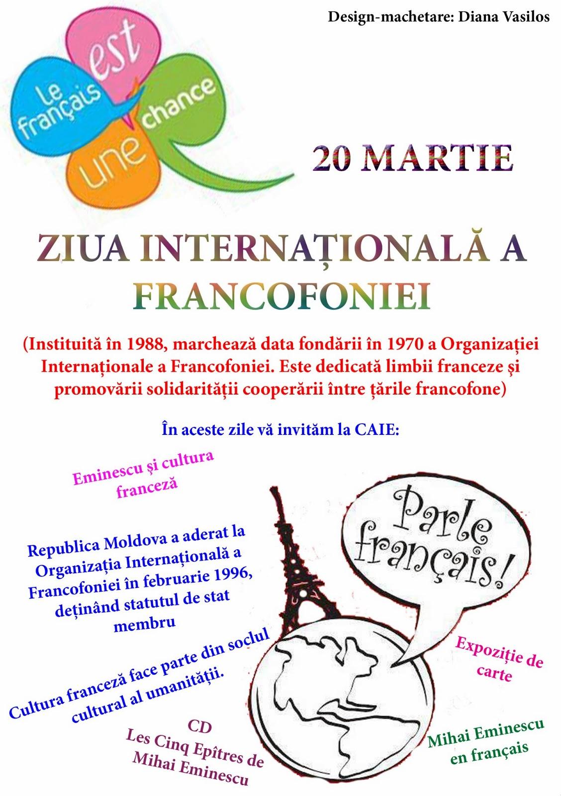 citate despre francofonie Centrul Academic Internaţional Eminescu: AVIZ citate despre francofonie