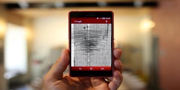 بالفيديو هل تعلم ان هاتفك يمكن ان يكشف عن  الزلازل ؟ تعلم كيف تجعله يقوم بذلك
