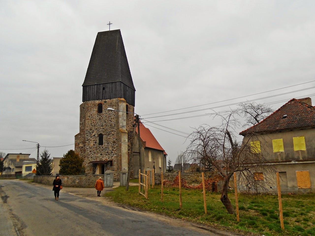 budowle sakralne, świątynia, wieś, droga