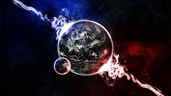 Planet with Natural Satellite