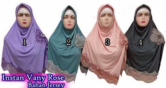 Jilbab instan murah dan terbaru bahan jersey