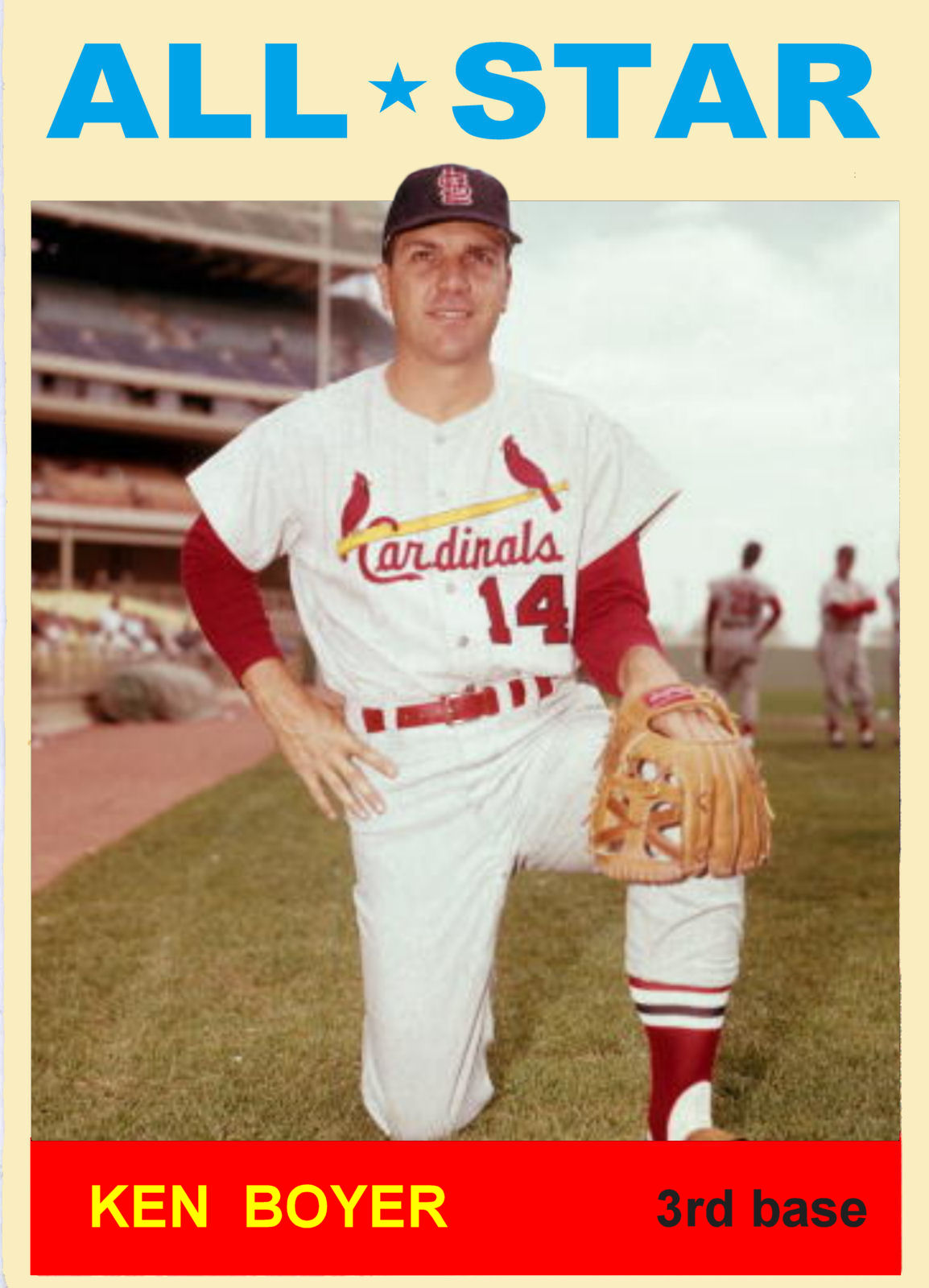 Cards That Never Were: 1964 Topps All Stars - The National ...