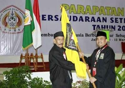Mas M Taufik Terpilih Jadi Ketua Umum PSHT Periode 2016 - 2021