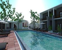 Sketchup Boutique Hotel Design Idea With 18 Rooms Samphoas