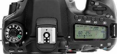 Tambahan LCD di Bagian Atas Body Kamera Pada Kamera Semi-Pro