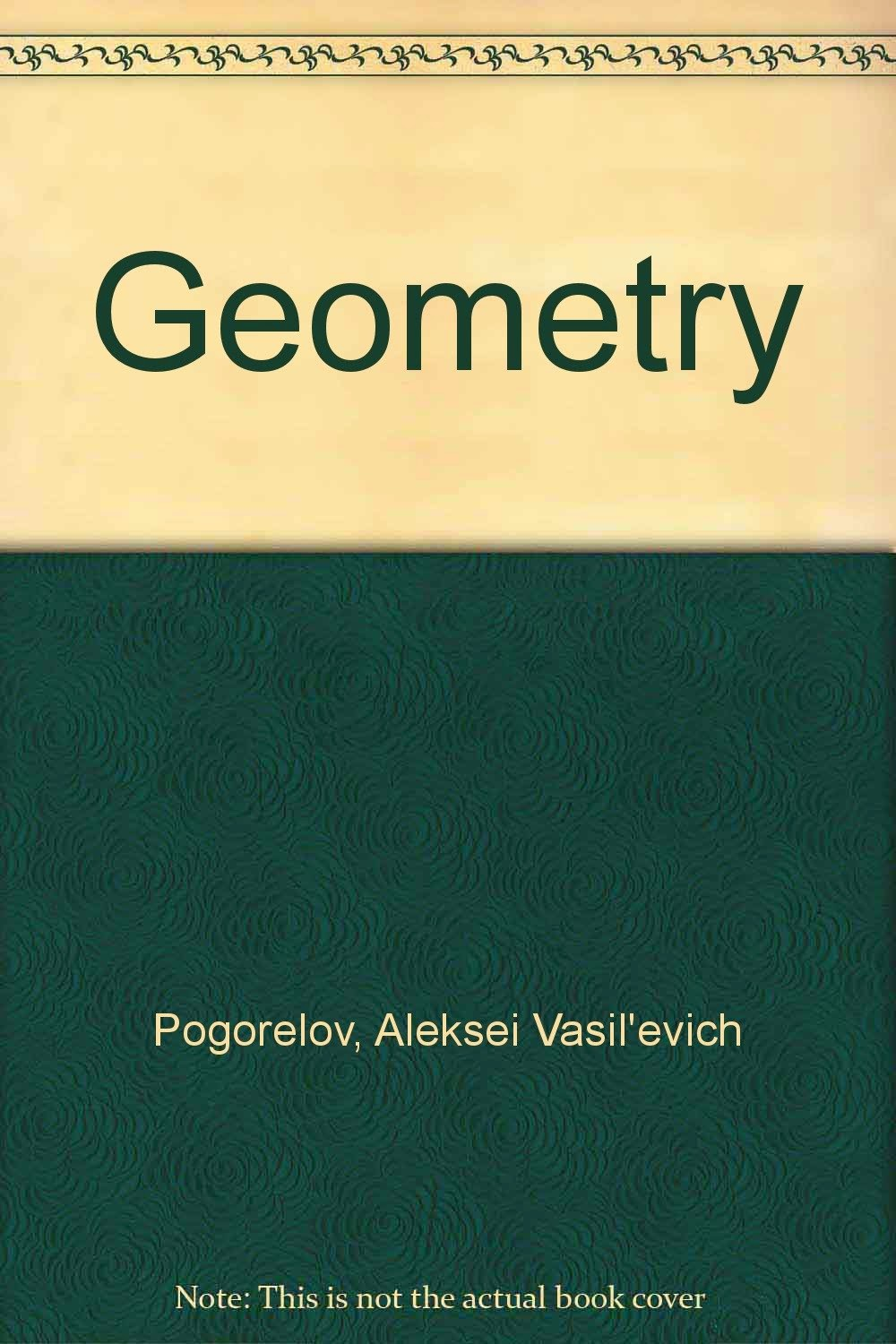 http://www.amazon.com/Geometry-V-Pogorelov/dp/0714725536/
