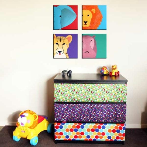 Kinderzimmer Einrichten Kommode Von Ikea Kreativ Verschonern