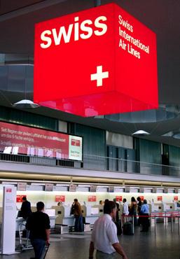 VIAJES: A Suiza y Europa con SWISS AIR 1