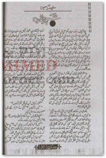 Shehar e Talab by Safina Yasmeen Online Rading