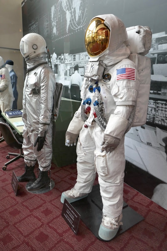 First Man Neil Armstrong spacesuits