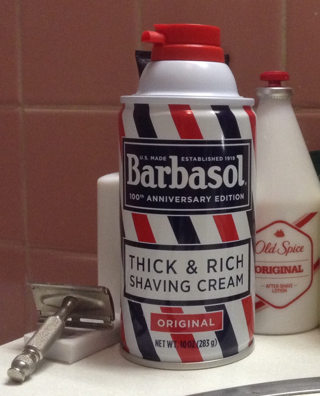 I would be remiss to not mention this, especially at the end of the Year of  Barbershop. It came to my attention that Barbasol issued a 100th  anniversary can ... ef9b77f5e04