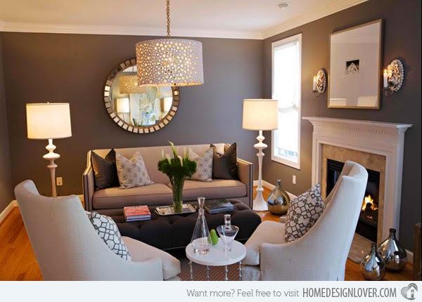 Desain Interior Ruang Tamu Kecil Sederhana Kontemporer