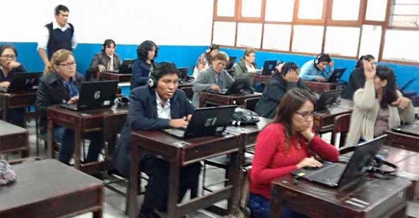 DRELM: Más de 500 docentes de inglés rindieron evaluación diagnóstica - www.drelm.gob.pe