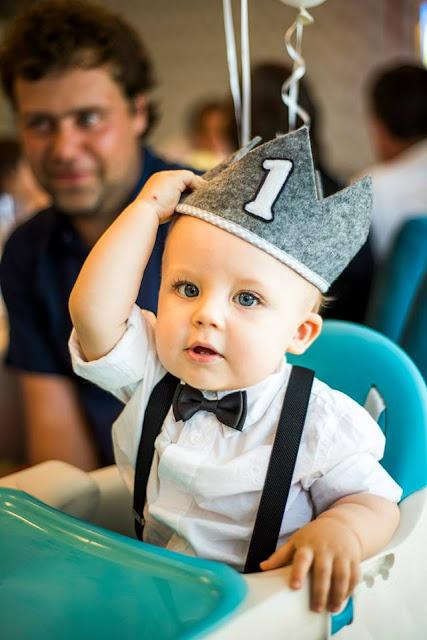 korona urodzinowa na roczek chłopca 3