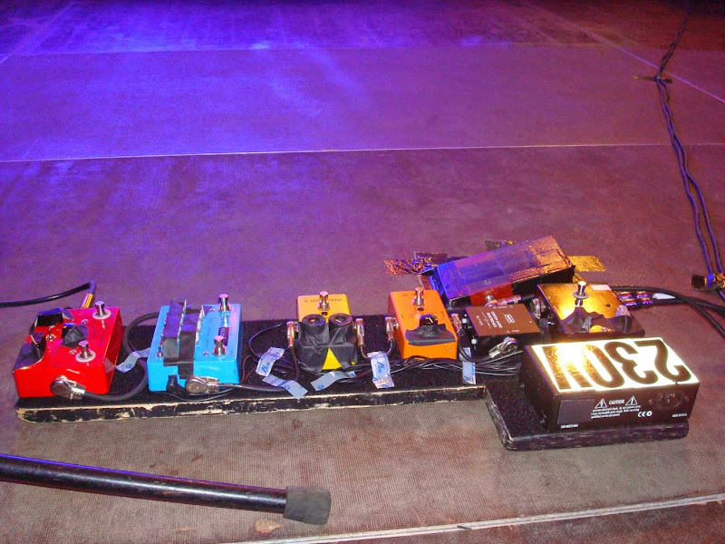 Paul Gilbert Pedalboard