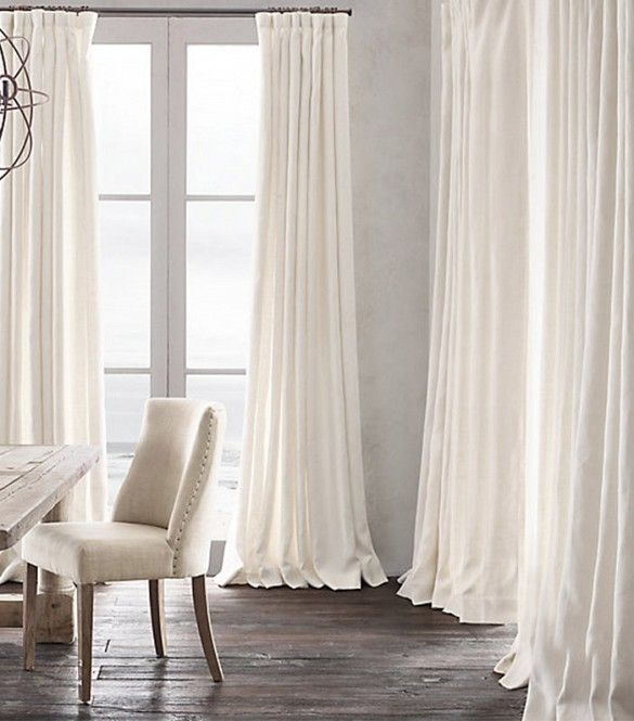 Making Curtains Longer Out Of Burlap Drop Cloths Fabric Sheets