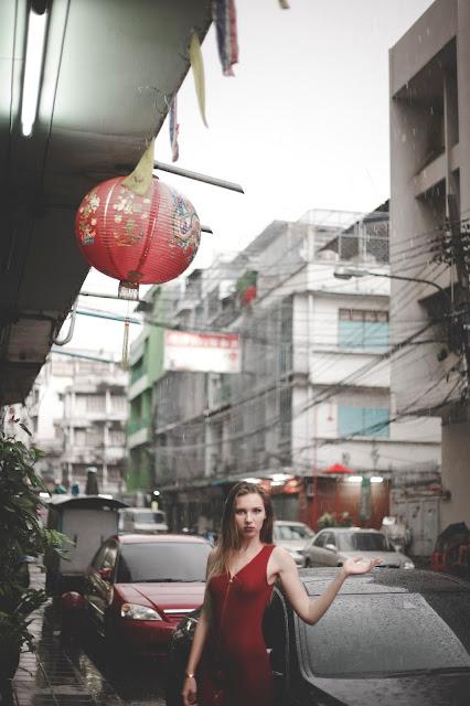 China Town, Wet In China Town, Kristyna Vackova, Kristyna Thajsko, thajsko blog, čínská čtvrť, čínská čtvrť bangkok, china town bangkok, bangkok blog, bangkok blogger, gejša, geisha