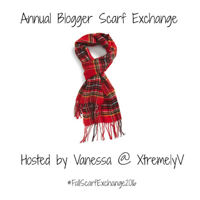 Annual Blogger Scarf Exchange