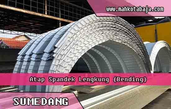 harga atap spandek lengkung Sumedang