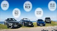 Khuyến mãi Mercedes tháng 9 - 2017