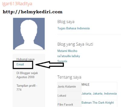 cek email blog