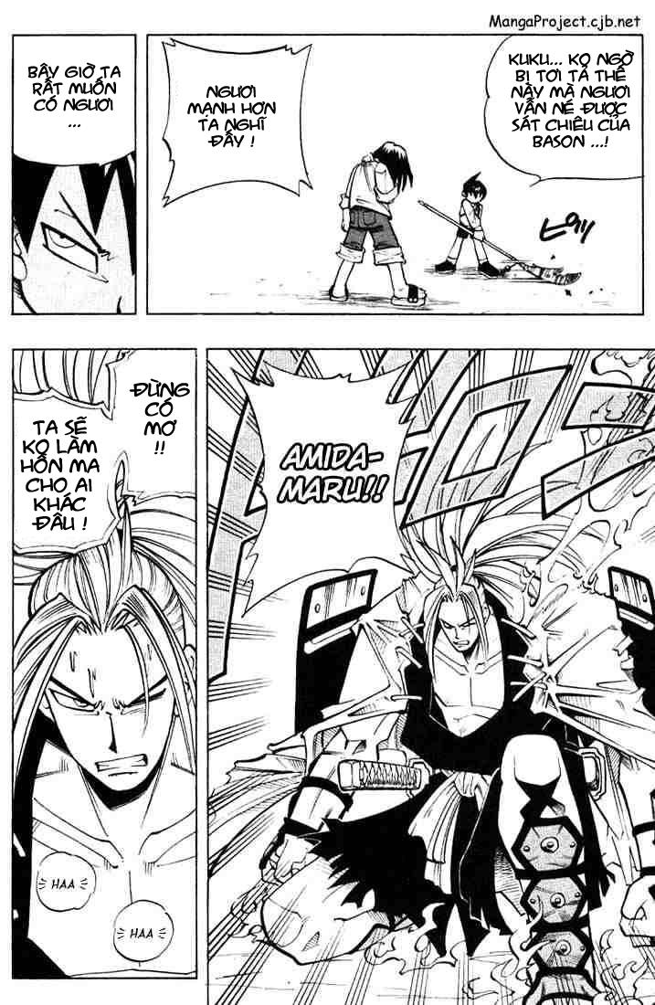 Shaman King [Vua pháp thuật] chap 8 trang 9