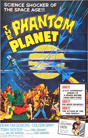 Poster - The Phantom Planet (1961)