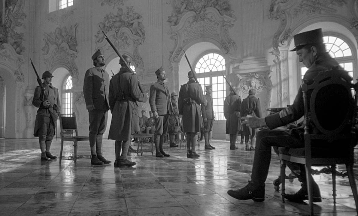 """paths of glory film review Three french soldiers of the great war brood in a cell their execution is scheduled for dawn cold walls surround them, offering no solace one of them lays curled up silently on the floor, going mad from his fear of death another, corporal paris, waxes philosophical: """"see that cockroach,"""" he says."""