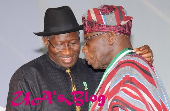 Jonathan's book launch: Obasanjo arrives to a 'noisy' welcome