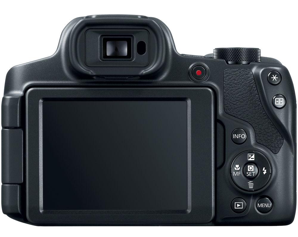 Canon PowerShot SX70 HS, вид сзади