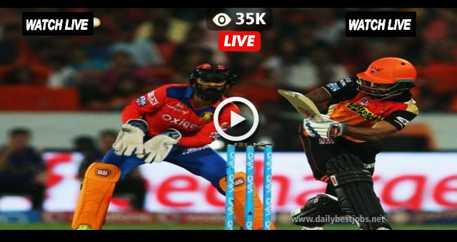 IPL 2018 Live Streaming DD vs SRH Live Cricket Score Online