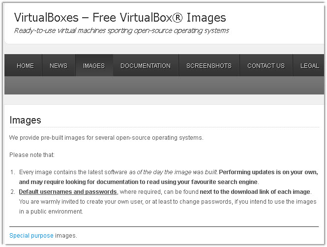 3 Websites To Download Virtual Disk Images For VirtualBox - Cloud