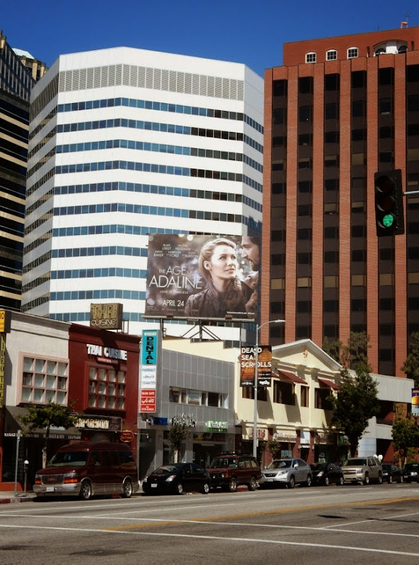 The Age of Adaline billboard