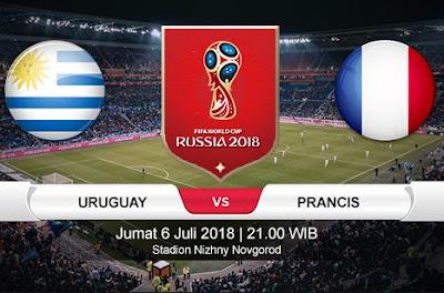 Tips Bola Piala Dunia Perancis vs Uruguay