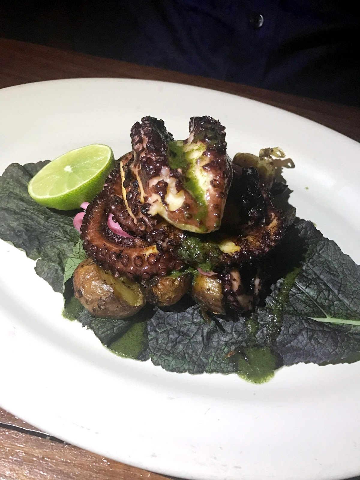 Stitch & Bear - Hartwood - Grilled octopus