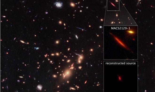 Crédits: NASA, ESA, M.Postman (STScI) et l'équipe CLASH