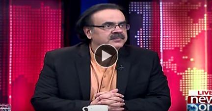 Live With Dr.Shahid Masood 18 February 2018