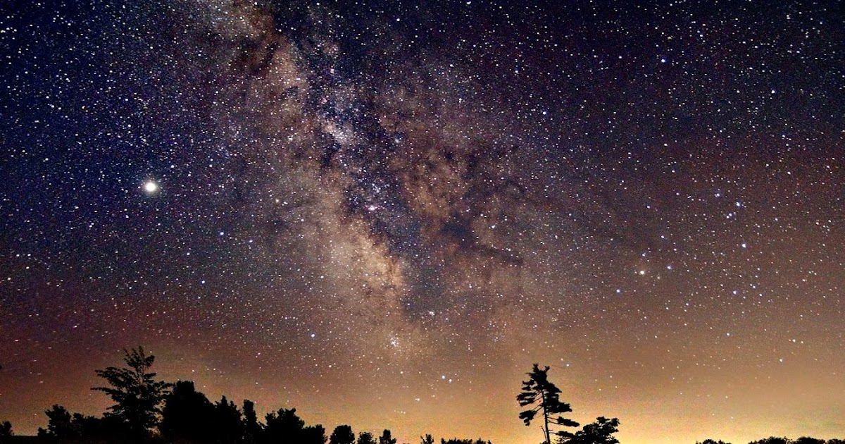 Iss Wallpaper Hd The Milky Way Seen Over Ontario Earth Blog