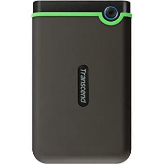 Transcend StoreJet 1TB Portable External Hard Drive