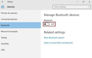 collegamento bluetooth windows 10 con android