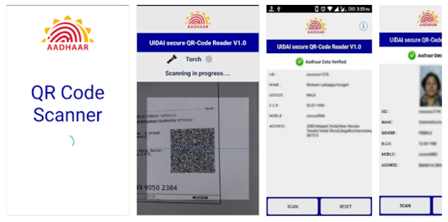 Aadhaar QR Scanner Official Mobile - YouthApps