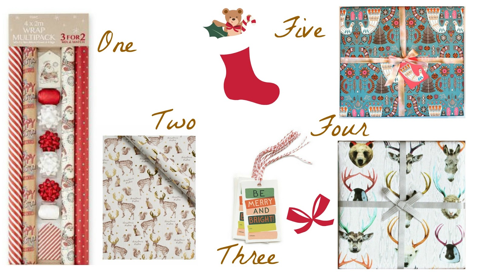 Formidale Joy | Formidable Joy Blog | My favourite Christmas Wrapping Sets | Next | House of Fraser | Rifle Paper Co | Paperchase | Not On The High Street | Christmas | Christmas Wrapping