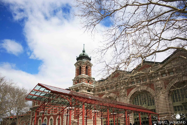 My Travel Background : Ellis Island, New York